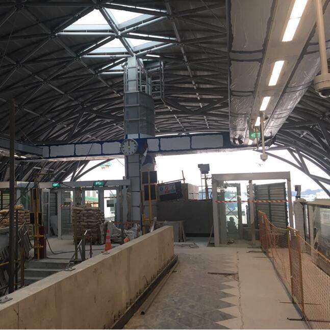 SG EW30 Tuas West MRT Station
