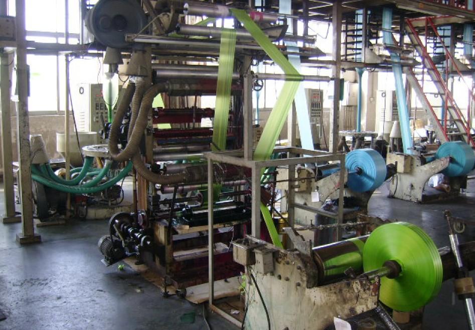 LDPE Bags -- Blowing Machine