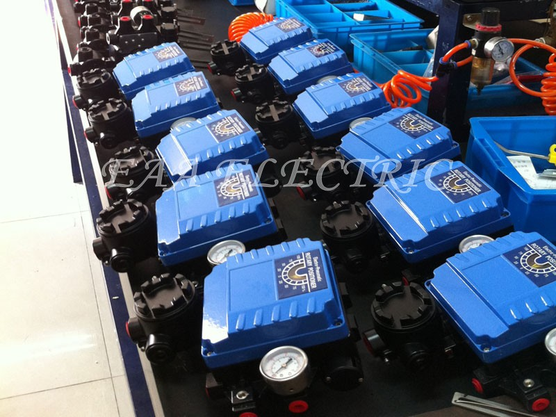 Electro Pneumatic Valve Positioner before packing