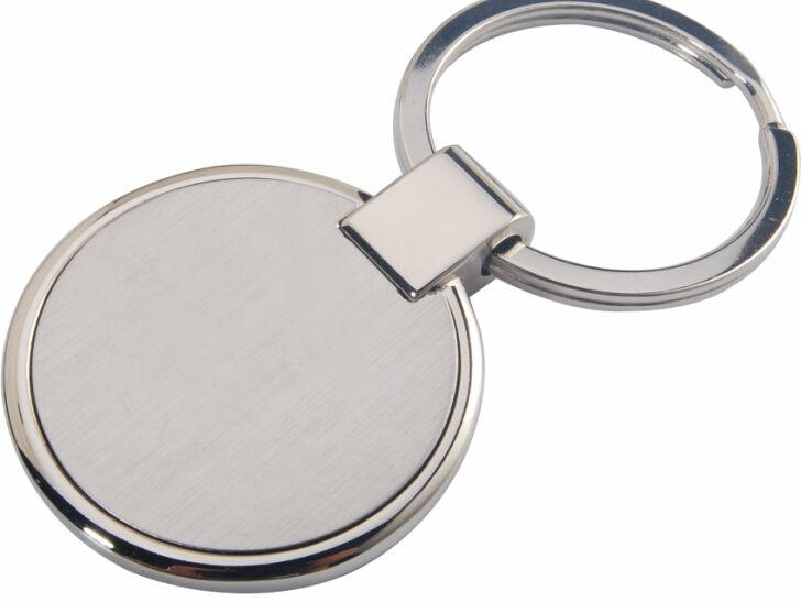 Hot Sale Custom Design Stainless Steel Key Chain with Keyring
