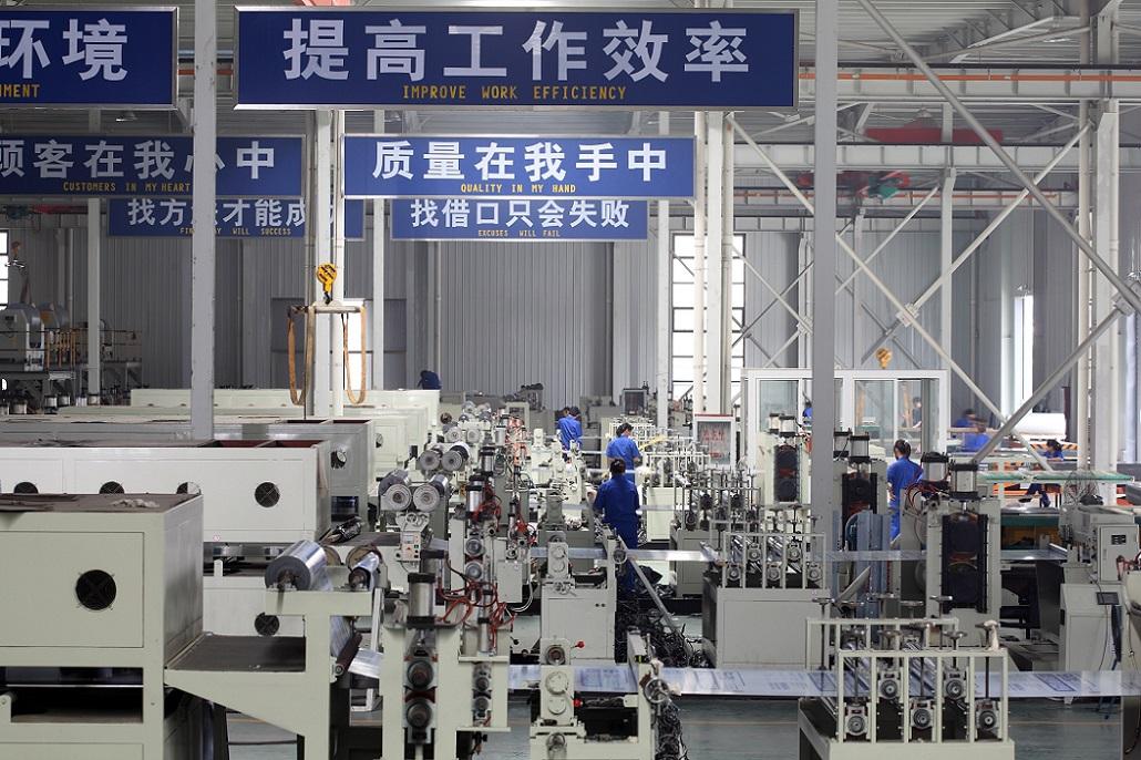 Aluminum plastics Composite Machinery-2