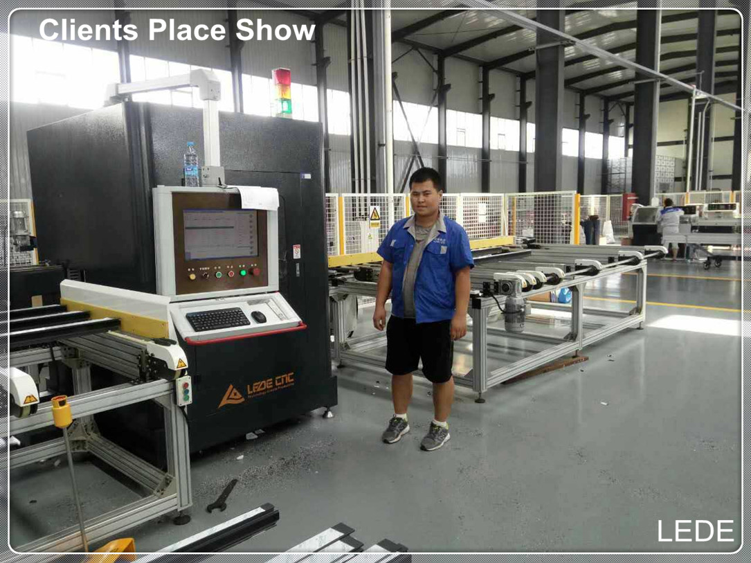 Cutting Center for Aluminum and Upvc profile Auto Cutting Production Line Sapphire C100