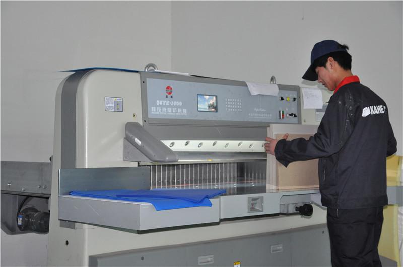Cut cardboard machine