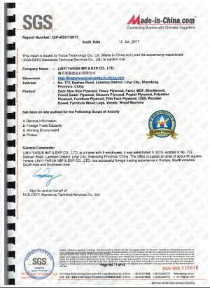 SGS Certisfied
