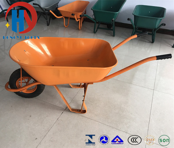 South America Stye Wheel Barrow