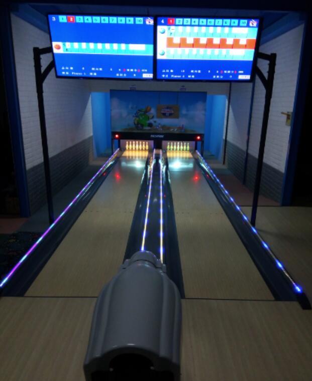 We push mini bowling equipment to Market