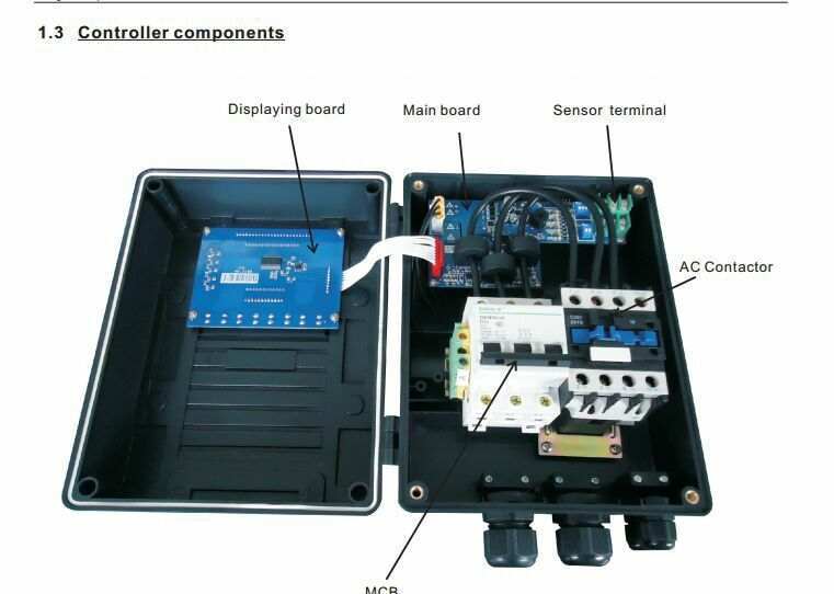New box pump controller