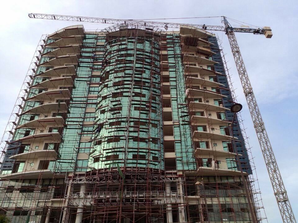 Curtain Wall Project in Senegal