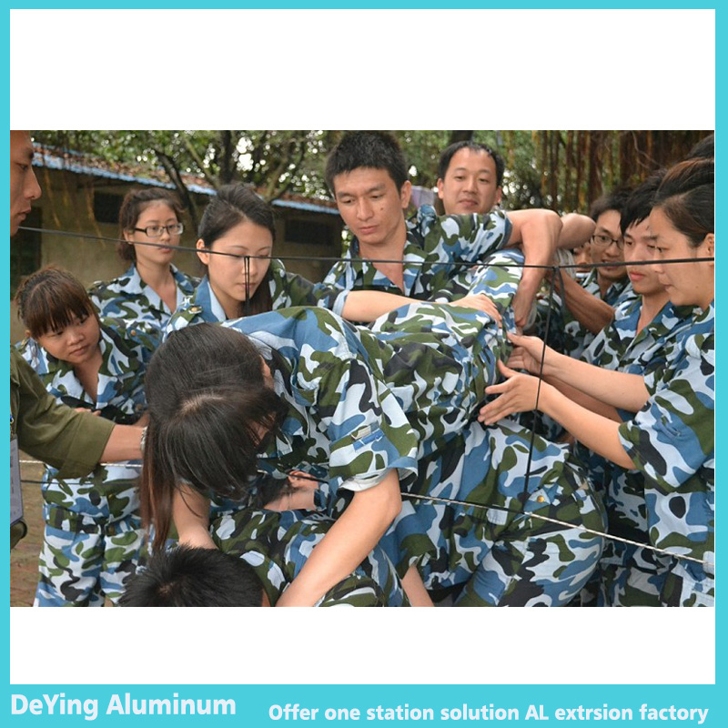DeYing Aluminum Team attend millitary tranining