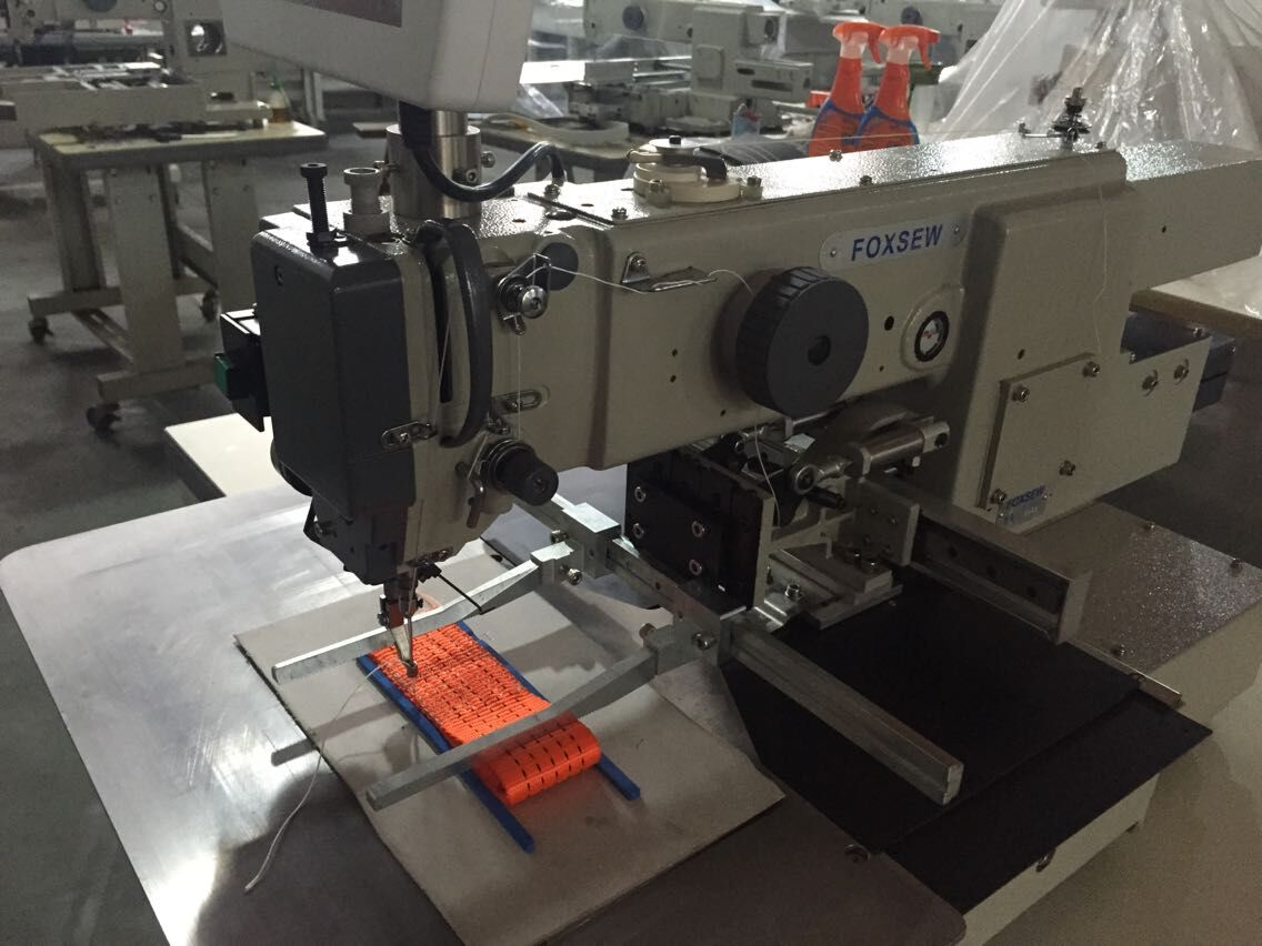 Programmable Pattern Sewing Machine for Heavy Duty Webbings