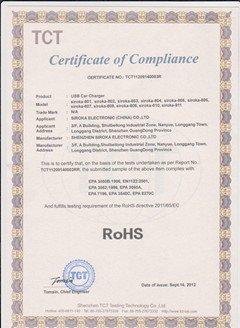 TCT RoHS