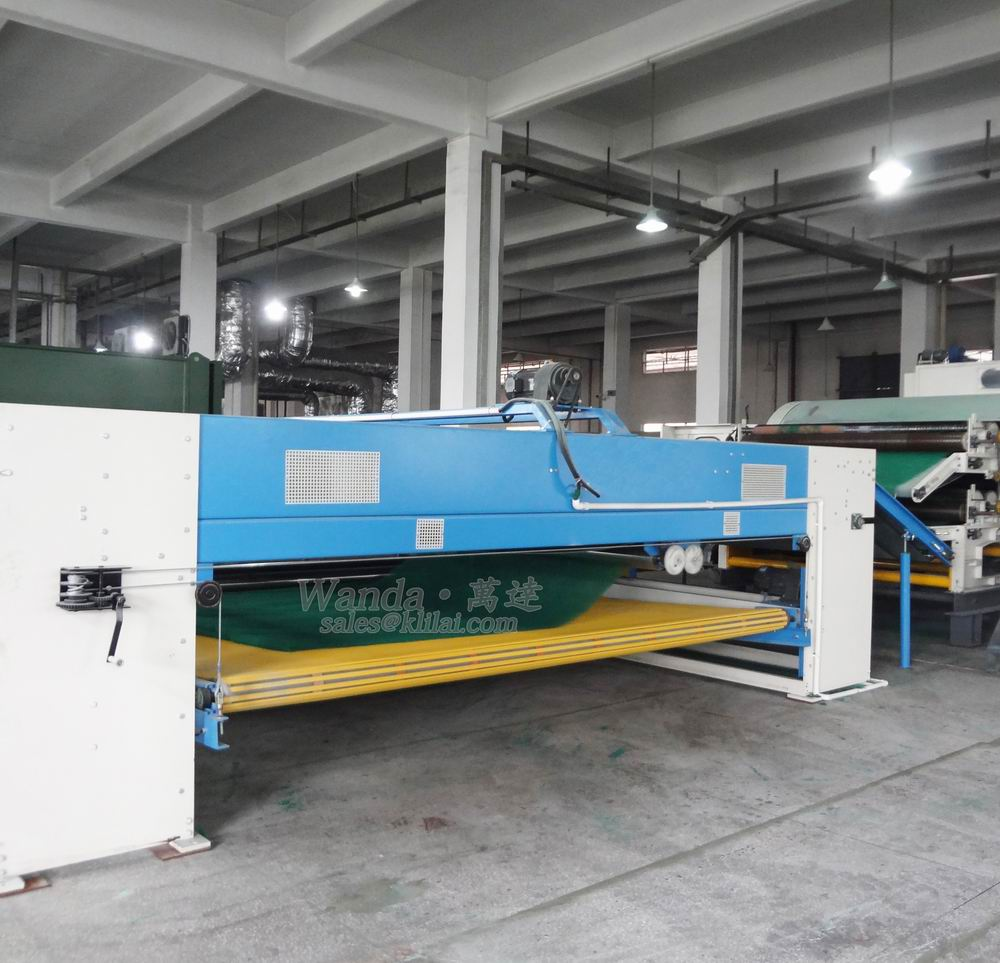 scouring pad production equipment