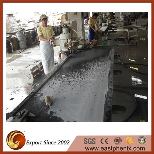 Granite countertop workshop