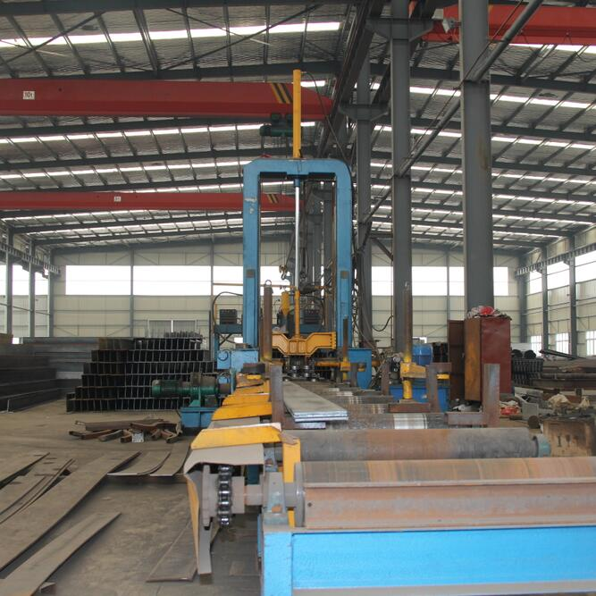 T BAR,H Beam Assembling Machine