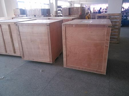 126sqm P8 outdoor SMD led display cabinet shippment