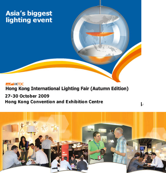 Invitation of HK International Lighting Fair (Autumn Edition) in 2009