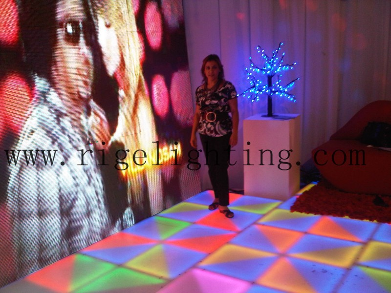 P10 Indoor LED Display and LED Dance Floor Project