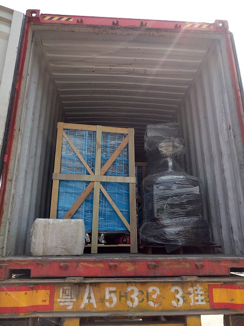 Loading picture for Roll container and Electric stacker