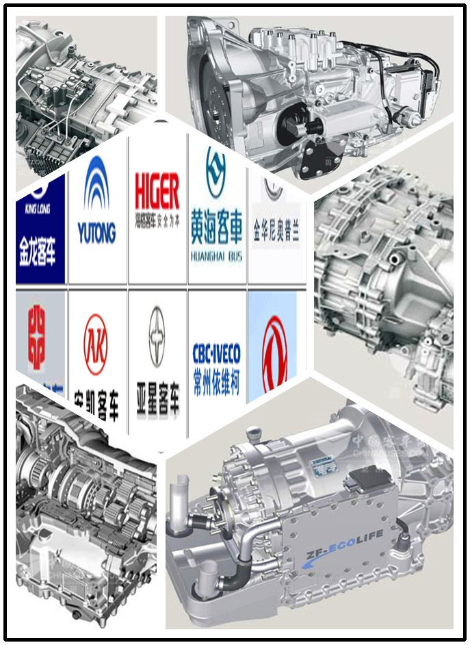 ZF gearbox and spare parts for bus