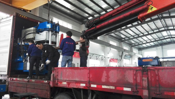 Export 5 sets rubber machine to Vietnam at the end of 2015