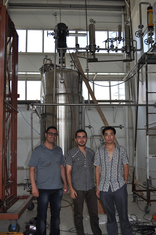 5000L stainless steel fermenter in Iran