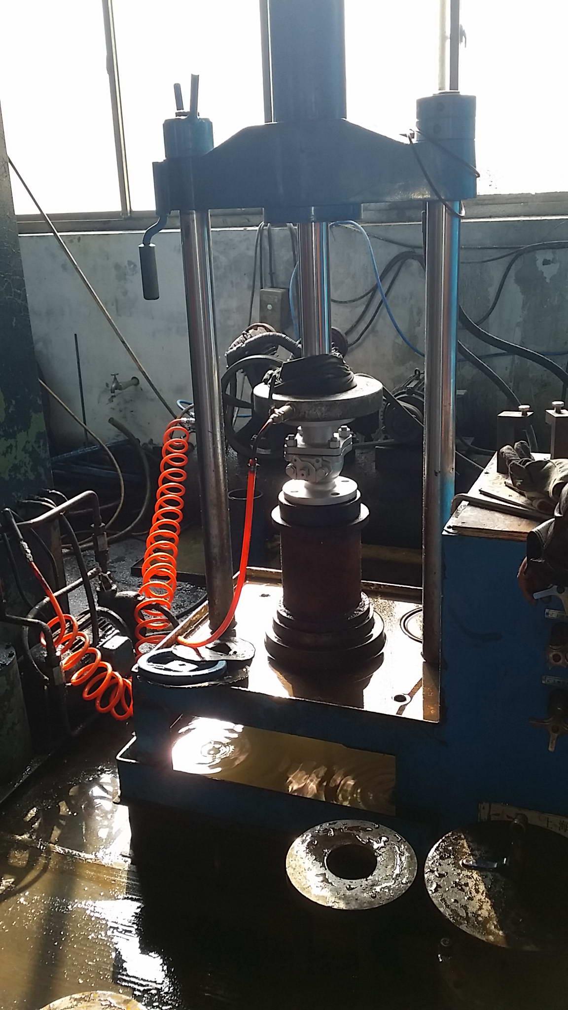 test valve