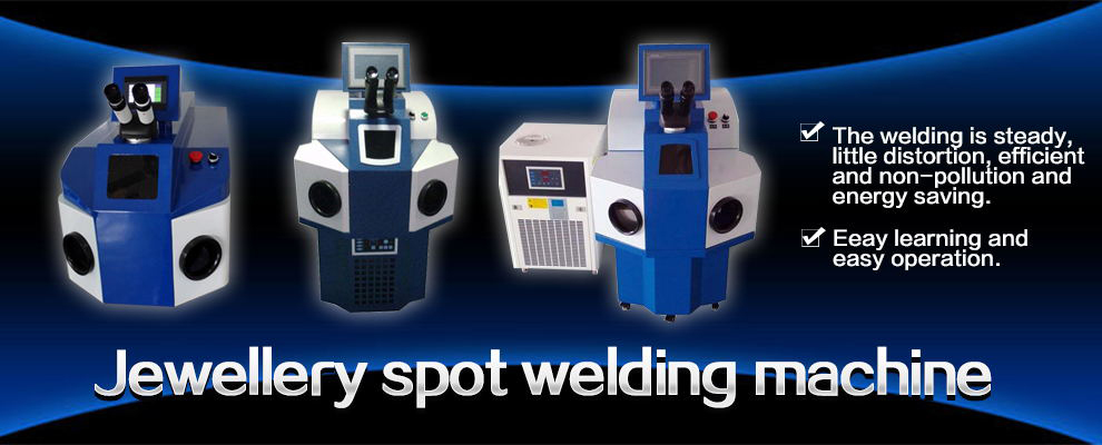 Jewellery spot welding machine
