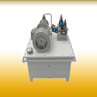 Hydraulic station of filter press