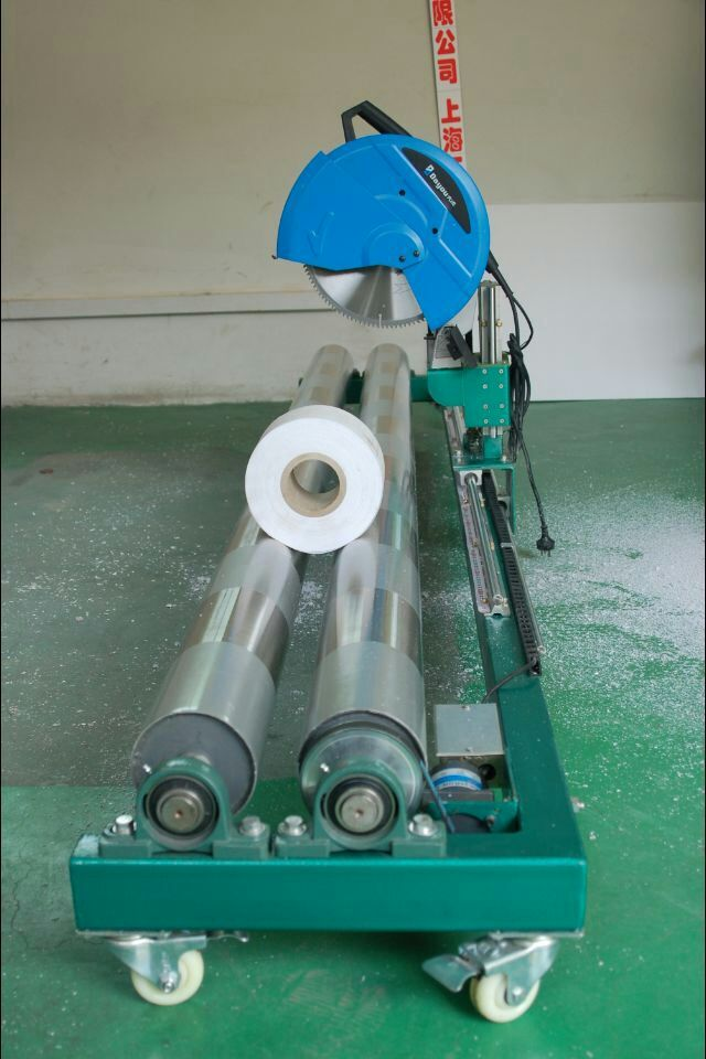 Max 5m Width Electrical Mesh Banner Roll Cutting Machine