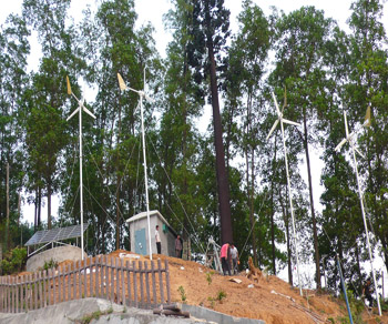 2011 Solar Wind Turbine Power System for Some Schools