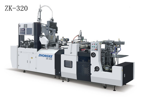 ZK-320 full automatic ornamental box making machine for small boxes (no four-corner taping)
