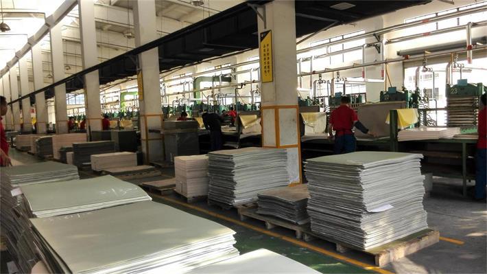 PVC Flooring & Vinyl Tile Pressing Workshop