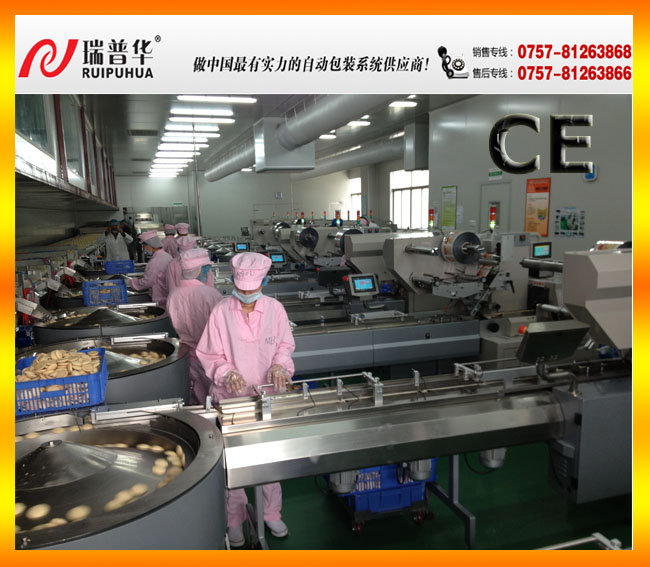 Disk turntable type auto feeding and packing system