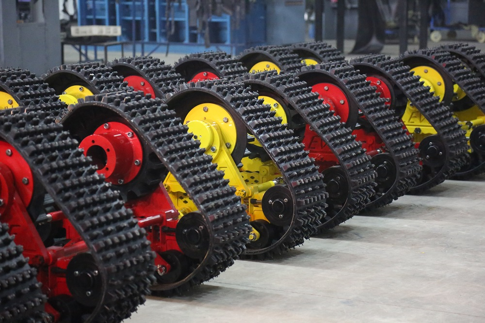 new type rubber track crawler