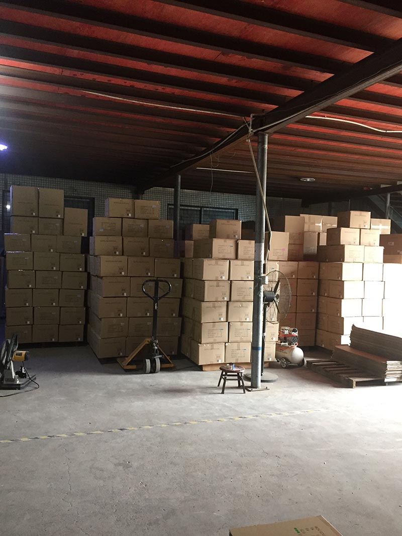 Ready in the warehouse