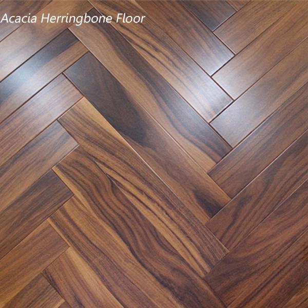 Acacia Herringbone Flooring hardwood /Engineered Flooring Acacia Wood Flooring