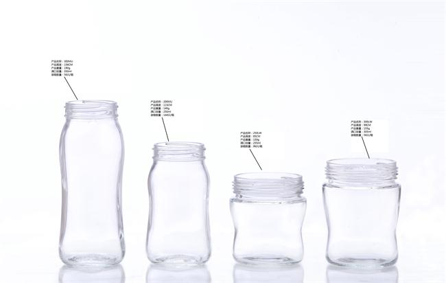 borosilicate glass feeding bottle/ milk glass bottle