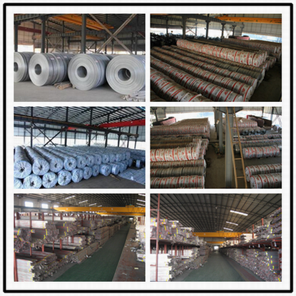 Warehouse of Stainless Steel Coil and Pipe