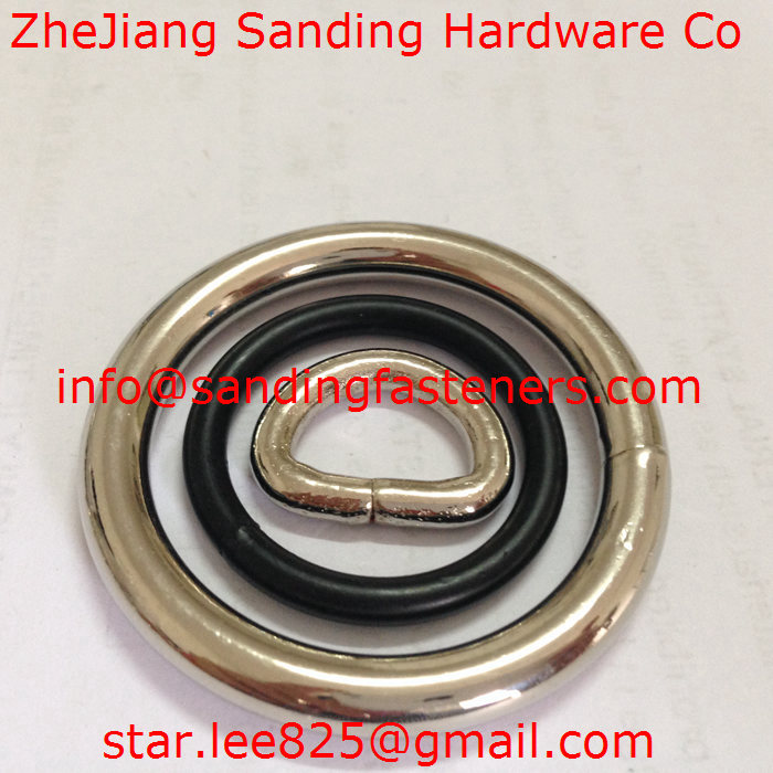 Stainless steel Metal D-Rings