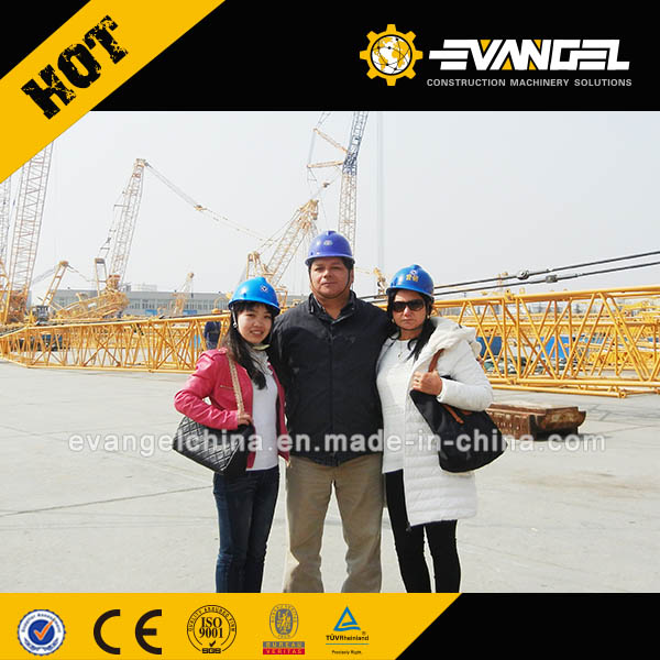 Peru Clients Visited XCMG Factory for Crawler Crane and Rotary Drilling Rig