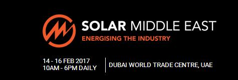Sunmodo will attend SOLAR MIDDLE EAST tradeshow