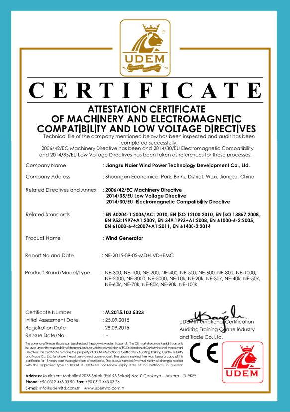 CE certificaiton