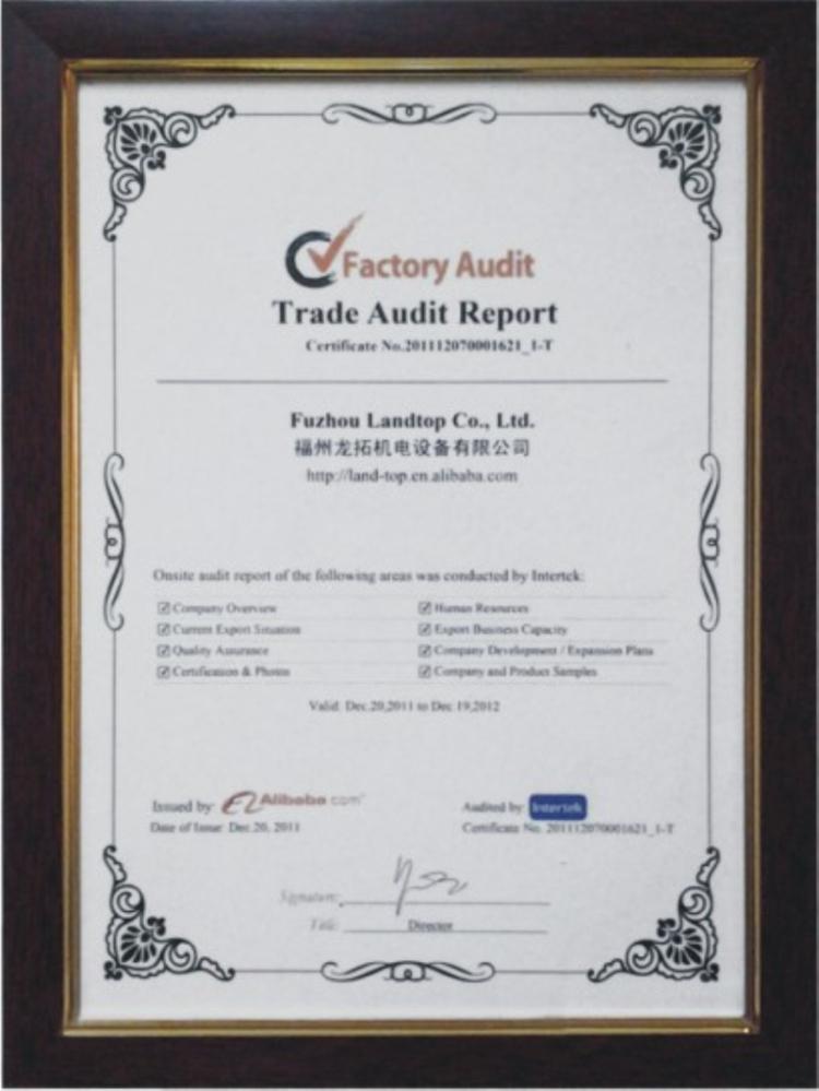 Landtop-Factory Audit