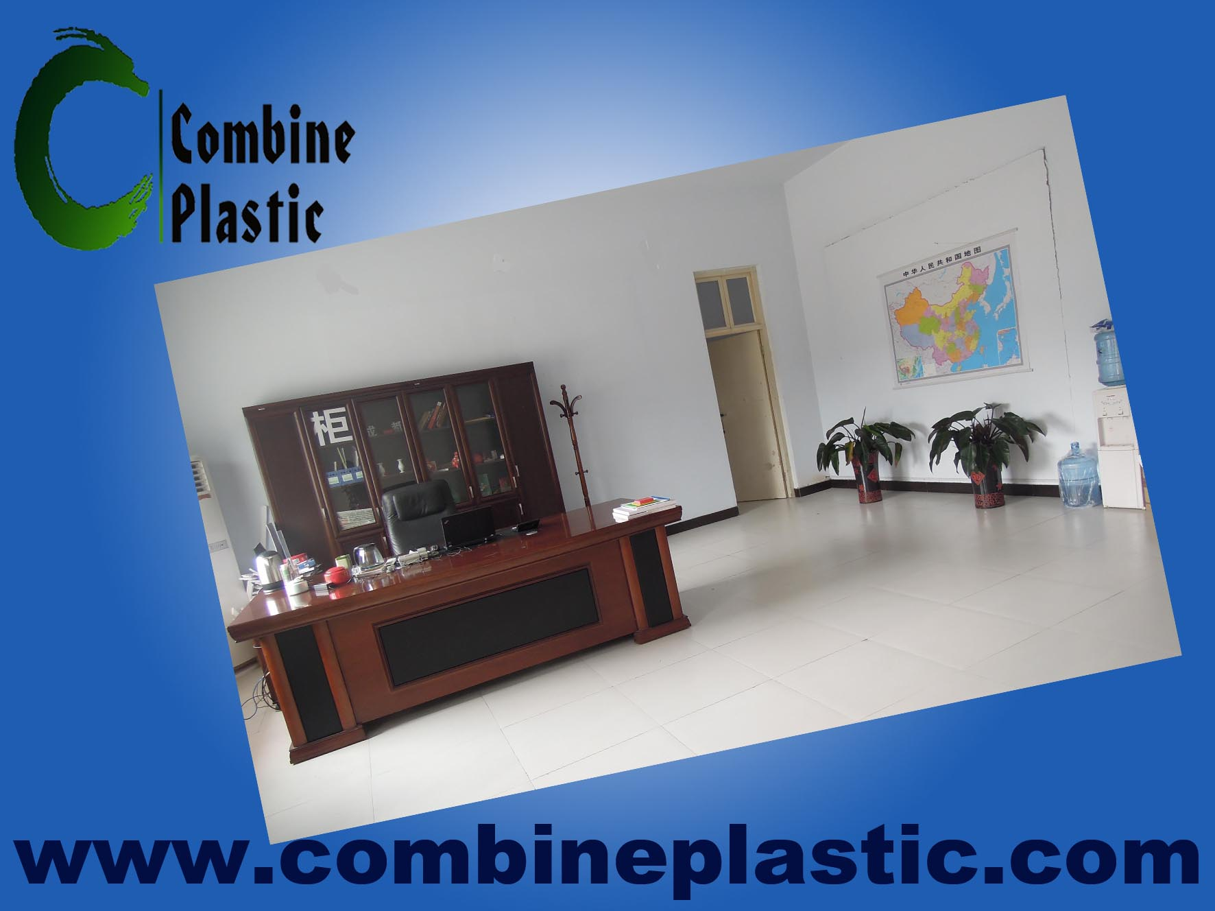 Our simple and clean office-for PVC foam board/sheet sales