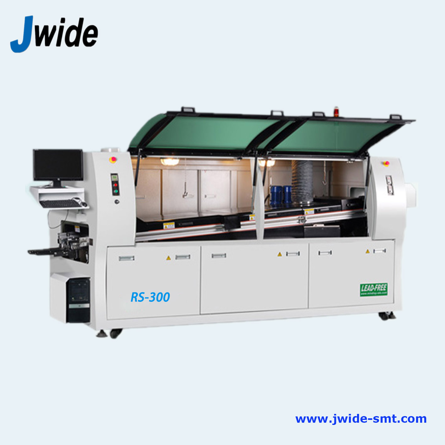 Large size DIP wave soldering machine