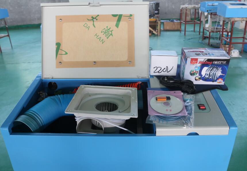 laser engraving machine 320 packing details