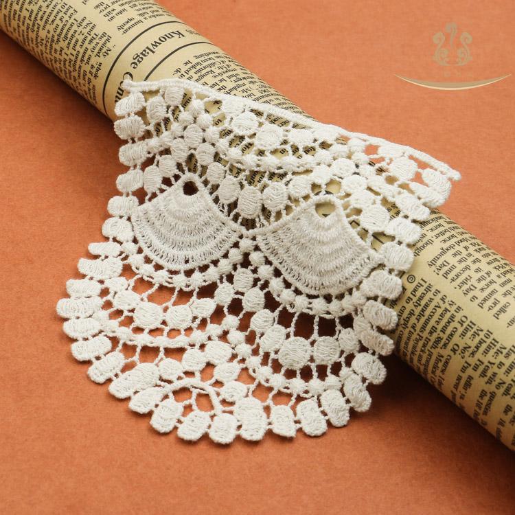 cotton lace collar