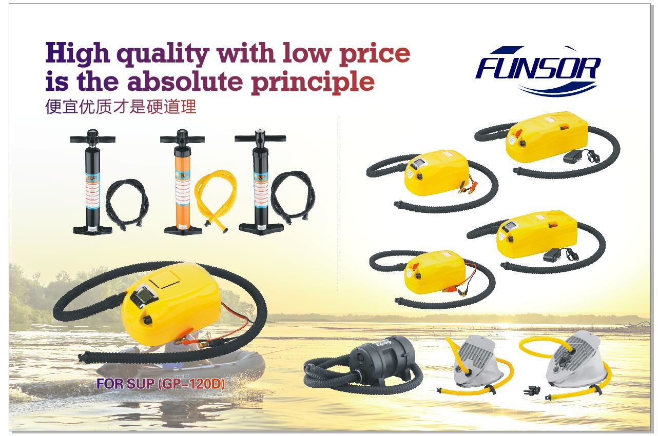 Poster of inflatable boat accessories