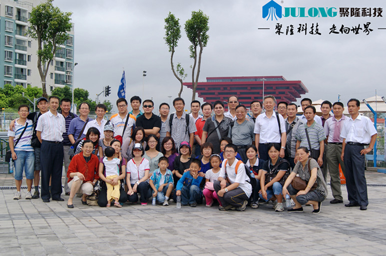 Visit the Shanghai World Expo.