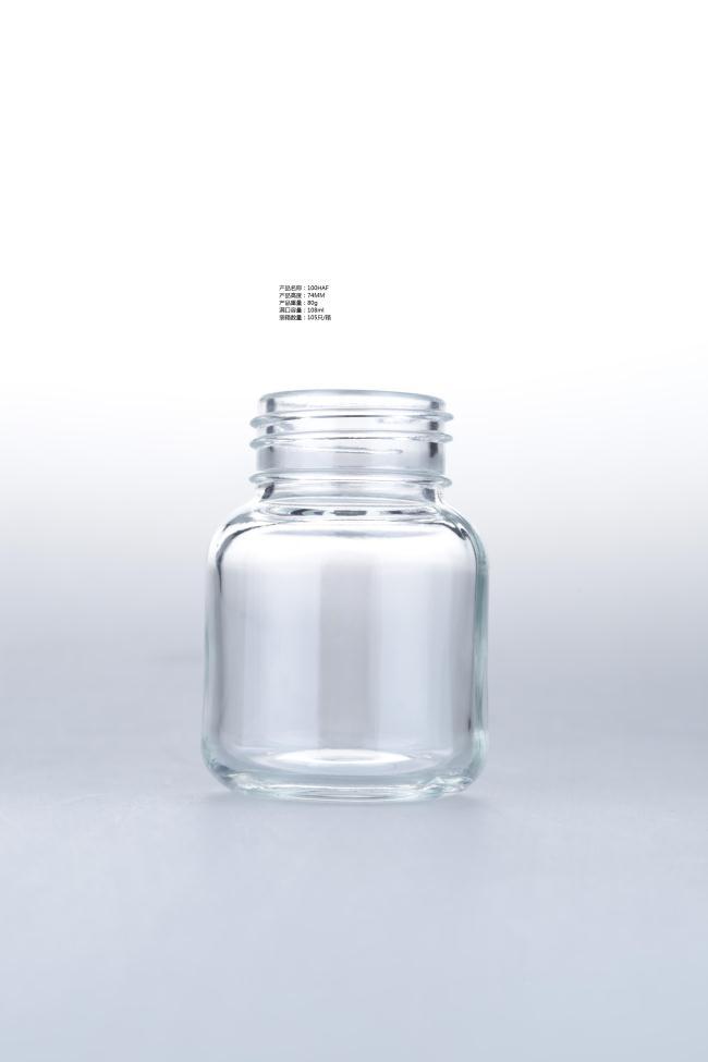 borosilicate glass feeding bottle/milk bottle